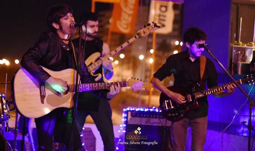 """El Gavilán y su banda """"Los Inmortales"""" - Parador Thelma - Enero 2020 - Foto © Andrea Silvera www.cooltivarte.com"""