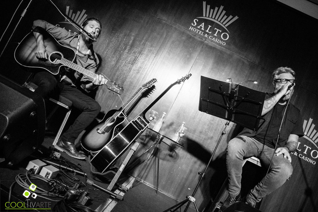 Spuntone & Mendaro en Salto - Telonero Nacho Toso. Salto Hotel & Casino - Febrero 2020 - Fotos y video © Mayra Cánepa www.cooltivarte.com