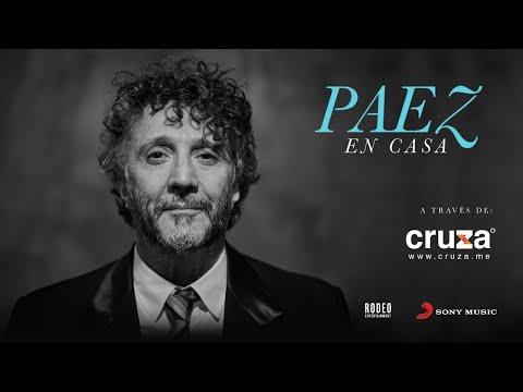 ESTA NOCHE 21.00 Cruza En Vivo - desde la casa de Fito Paez concierto exclusivo - Streaming en cuarentena como parte de las actividades de Cuarentena - Cultura en Casa Coronavirus - Covid-19 20 de marzo de 2020