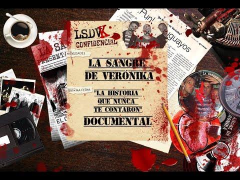"""""""La historia que nunca te contaron"""" El documental que recorre los 30 años ininterrumpidos de carrera de la banda Punk Uruguaya La Sangre de Veronika. Documental que recorre la biografía de LA SANGRE DE VERÓNIKA ."""