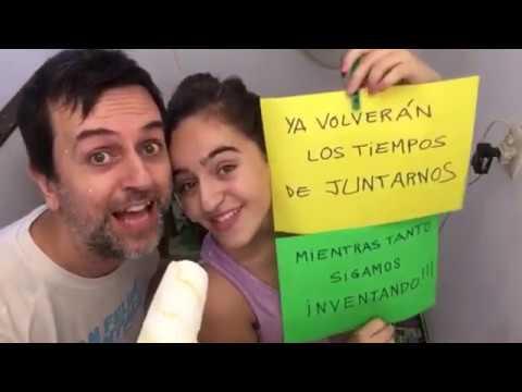 Bajo, percusión y coros: Javier Ventoso. Edición de video: Martín Grieco. Atravesando monitores - Ismael Collazo