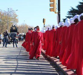 28M Intervención feminista en el Palacio Legislativo