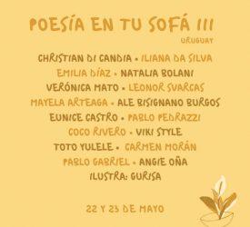 POESÍA EN TU SOFÁ III  URUGUAY