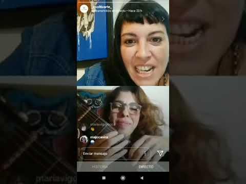 Andrea Silvera en VIVO CON ROSSANA TADDEI