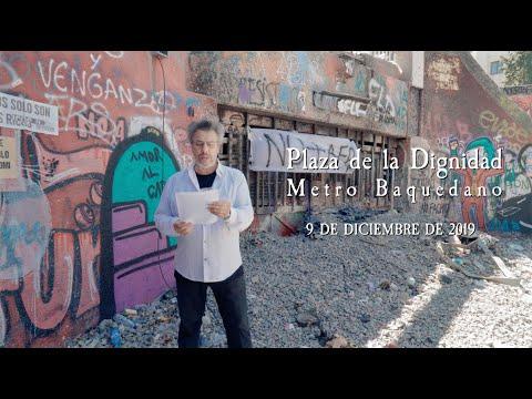LUIS BRAVO «Foto movida de Santiago» Registro de Poetas Plaza de la Dignidad - Metro Baquedano