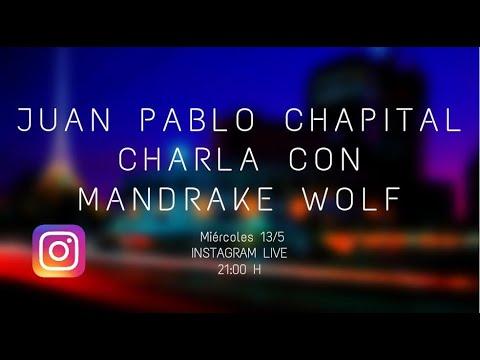 """Cuarentena sessions. Charlas del músico Juan Pablo Chapital con diversos músicos uruguayos. Primera parte con Alberto """"Mandrake"""" Wolf"""