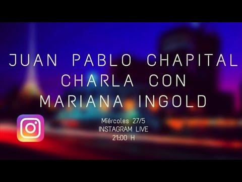 Cuarentena sessions. Charlas del músicoJuan Pablo Chapitalcon diversos músicos uruguayos. Primera parte con Mariana Ingold