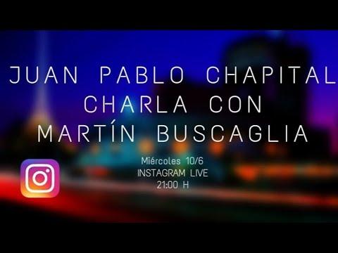 Cuarentena sessions. Charlas del músicoJuan Pablo Chapital con diversos músicos uruguayos. Primera parte con Martín Buscaglia