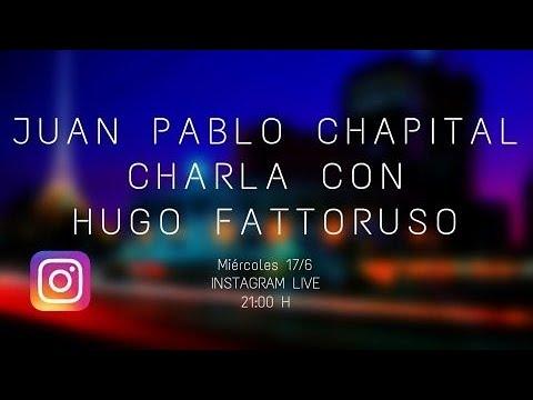 Cuarentena sessions. Charlas del músico Juan Pablo Chapitalcon diversos músicos uruguayos. Primera parte con Hugo Fattoruso