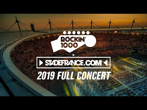 1000 musicians were needed for such a massive show. 1000 words wouldn't be enough to say how it felt. This's the whole video of the concert we performed at Stade De France - Paris, on June 29th 2019. #rockin1000