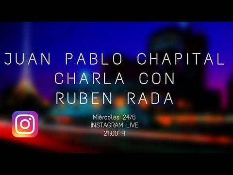 Cuarentena sessions. Charlas del músico Juan Pablo Chapital con diversos músicos uruguayos. Ruben Rada