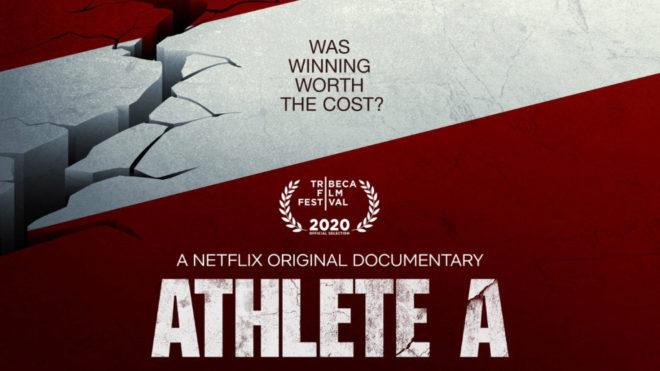 """Netflix el nuevo documental recientemente publicado llamado """"Atleta A""""."""