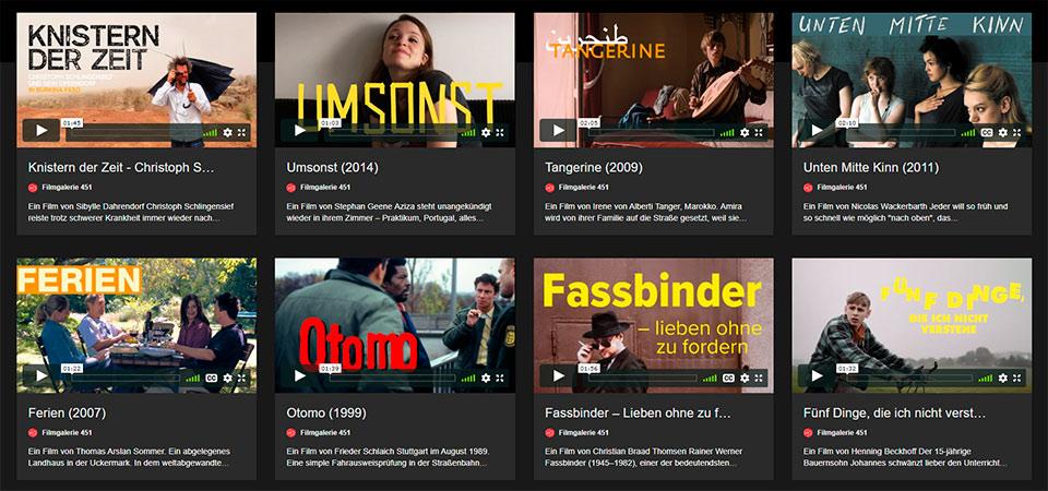 El Goethe-Institut presenta en cooperación con Filmgalerie 451 GOETHE ON DEMAND