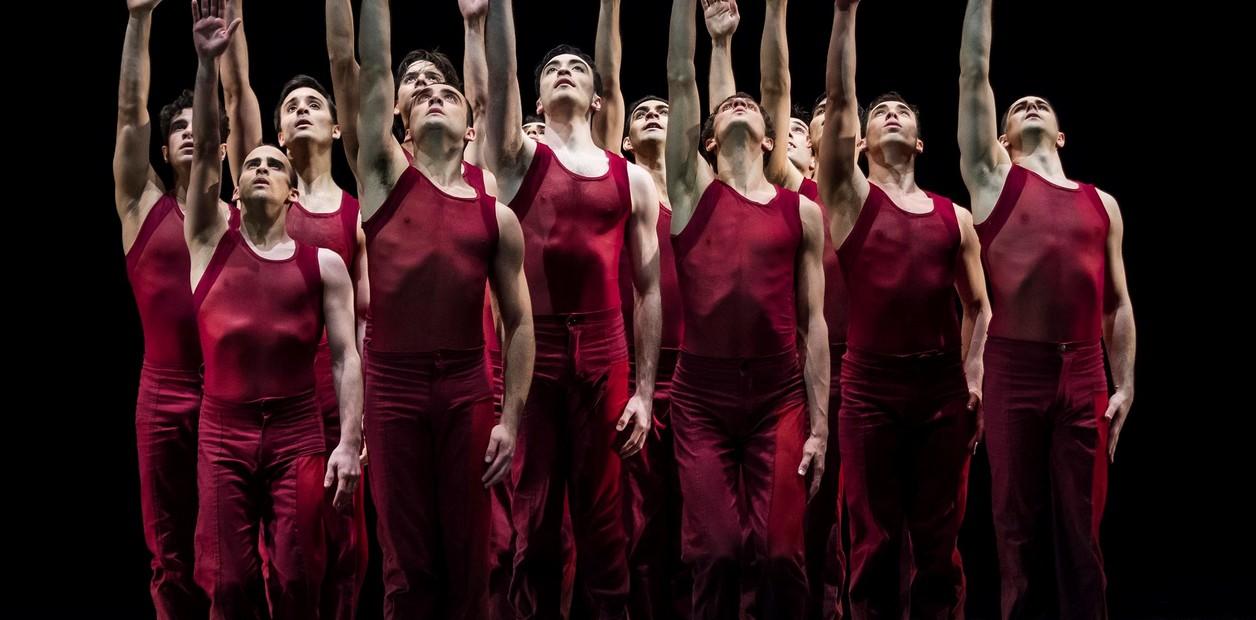 Novena sinfonía, versión coreográfica de Mauricio Wainrot. Fotos Gustavo Gabotti.