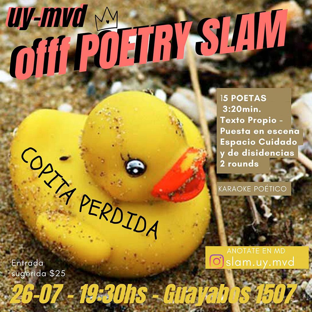 COPITA PERDIDA:::SLAM DE POESÍA ORAL URUGUAY-MVD