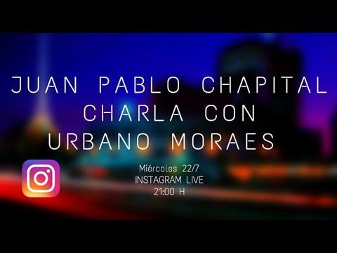 Cuarentena sessions. Charlas del músico Juan Pablo Chapital con diversos músicos uruguayos. Urbano Moraes