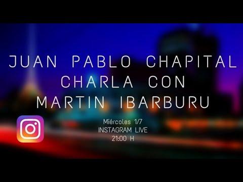 Cuarentena sessions. Charlas del músico Juan Pablo Chapital con diversos músicos uruguayos. Martín Ibarburu