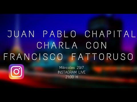 Cuarentena sessions. Charlas del músico Juan Pablo Chapital con diversos músicos uruguayos. Francisco Fattoruso