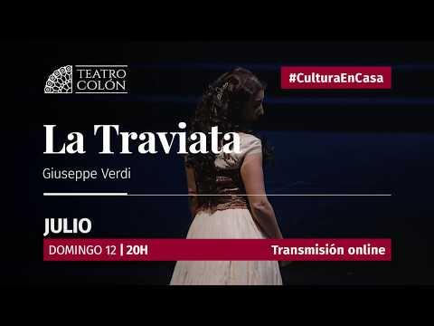 Este domingo 12 a las 20 hs desde el sitio web del Teatro Colón www.teatrocolon.org.ar/en-vivo se trasmitirá La Traviata de Giuseppe Verdi, presentada en la Temporada 2017.