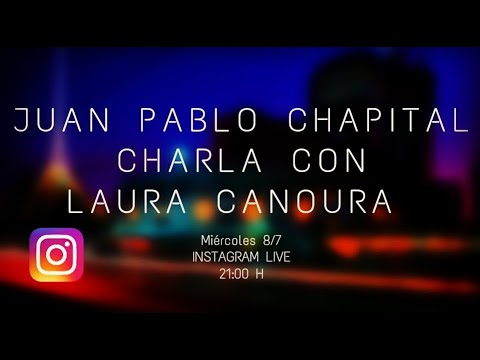 Cuarentena sessions. Charlas del músicoJuan Pablo Chapitalcon diversos músicos uruguayos. Laura Canoura