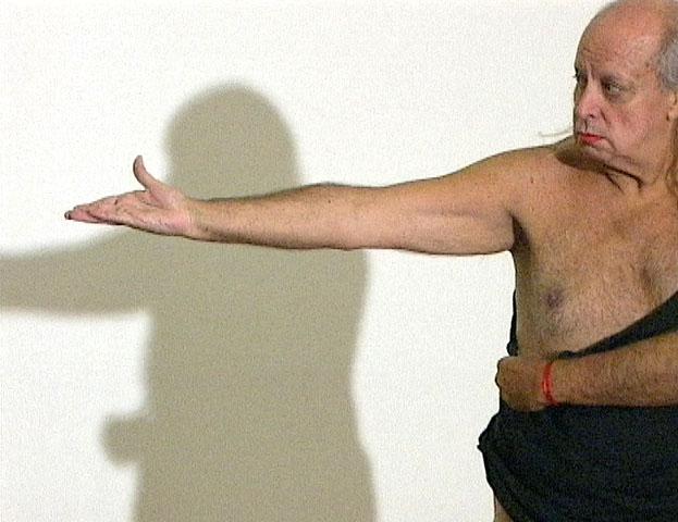 Alberto Restuccia en Striptease, 2006 por Sylvia Meyer - Fernando Alvarez Cozzi