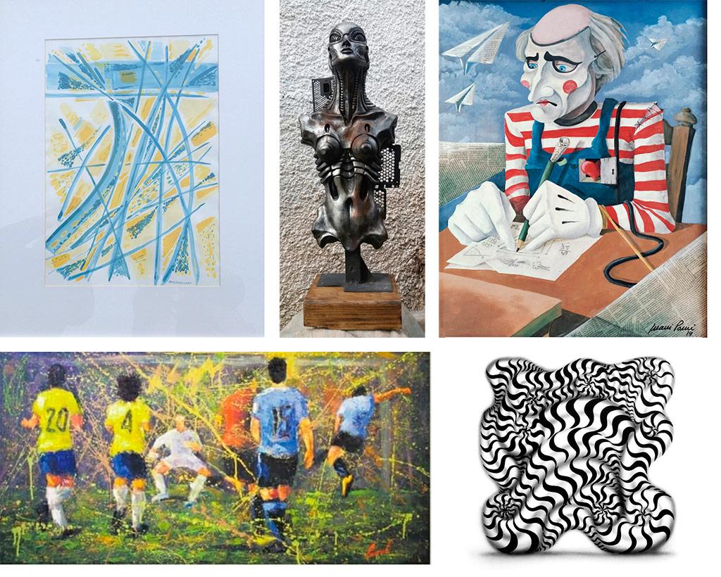 El 8 de setiembre se realizará, en el local de AGADU y a cargo de la Asociación Nacional de Rematadores Tasadores y Corredores Inmobiliarios, un remate virtual de obras de arte de artistas plásticos uruguayos contemporáneos, donadas, en su mayoría, por los propios artistas.