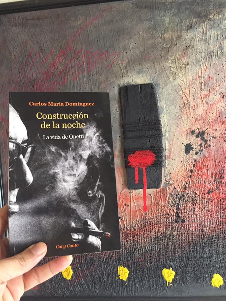 Carlos María Domínguez (Buenos Aires, 1955) me compré Construcción de la noche, La vida de Onetti