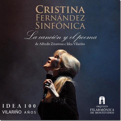Filarmónica de Montevideo y Cristina Fernández