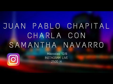 Cuarentena sessions. Charlas del músicoJuan Pablo Chapitalcon diversos músicos uruguayos. Samantha Navarro