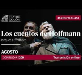 Los cuentos de Hoffmann- Teatro Colón- EN VIVO