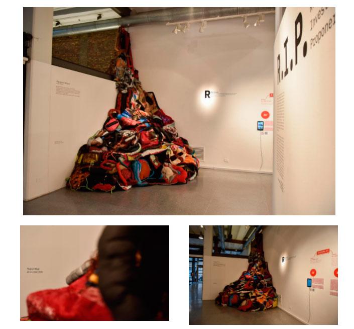 Margaret Whyte Artista invitada en el marco de la exposición R.I.P. Revisar – Investigar – Proponer Del 02/09 hasta el 07/11 - Entrada libre