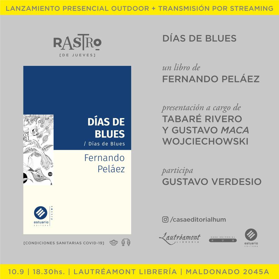 Presentación de Días de Blues de Fernando Peláez