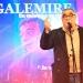 """Premio Graffiti 2020 al Mejor Libro sobre Música Uruguaya que le correspondió al libro """"Galemire – Su Música y Su Tiempo"""" del autor Eduardo Rivero - Premios graffiti a la musica uruguaya 2020 foto Pablo Meneses www.cooltivarte.com"""