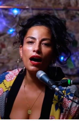Ana Tijoux sharing a set of songs performed exclusively for KEXP