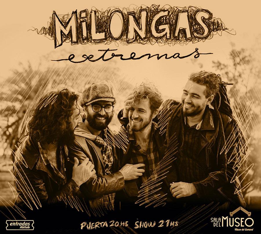 Milongas Extremas vuelvea tocar en Montevideo 6 y 7 de noviembre - 20 hs. | Sala del Museo