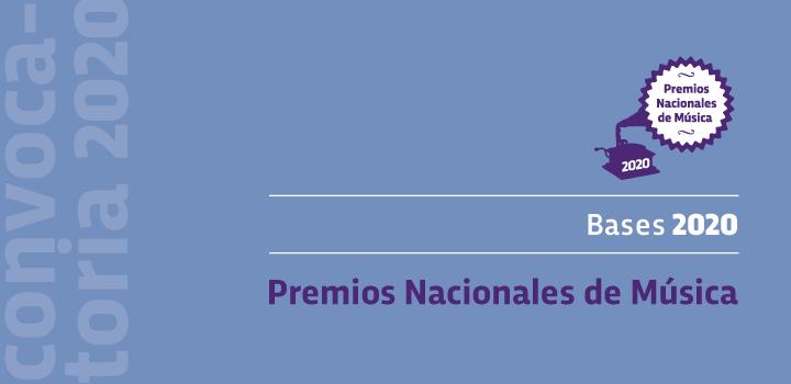 Premios Nacionales de Música 2020