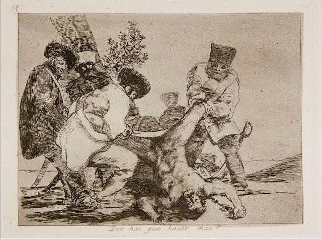 Que hay q hacer mas? # 33 – Grabado - 24,8 x34,1 cm – Francisco de Goya - Museo del Prado, Madrid