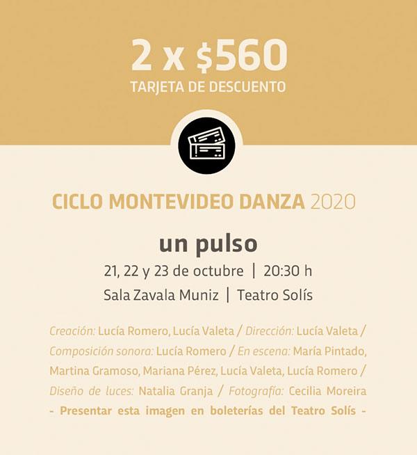 Ciclo Montevideo Danza presenta:un pulso;