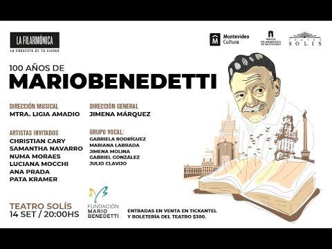Homenaje a Mario Benedetti / 100 años