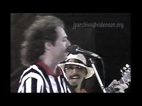 Actuación de Jaime Roos en Varadero, Cuba, 1988.