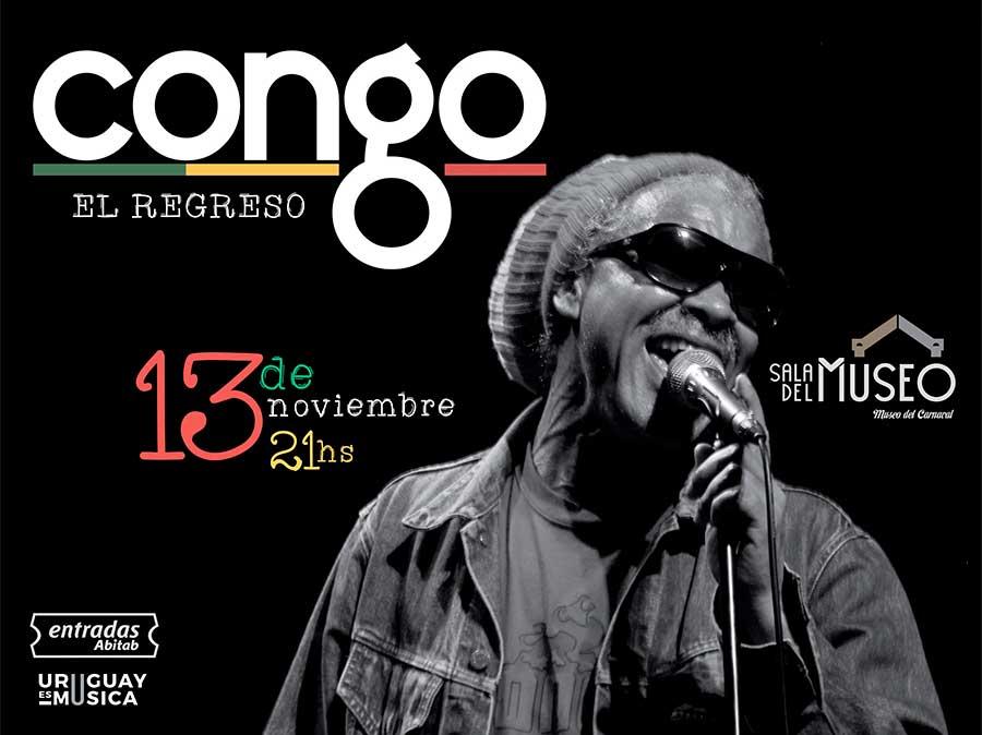 Congo en vivo - 13 de noviembre Sala del Museo