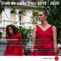 25N - Día Internacional de la Eliminación de la Violencia contra la Mujer Diez de cada Diez 2015 - 2020 25 de Noviembre 18:30 horas -puntual Frente al Palacio Legislativo