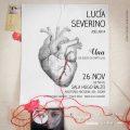 Lucía Severino vuelve a la sala Hugo Balzo del Auditorio Nacional del Sodre JUEVES 26 DE NOVIEMBRE 20.30 hrs.
