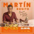 """Martin Rosito- Presenta su disco """"Razones de Fuerza Mayor""""- 4 de Diciembre 2020- Sala Camancuá-Montevideo- Fotografía cedida por la Producción."""