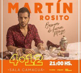 Para eso están las canciones - Entrevista a Martín Rosito