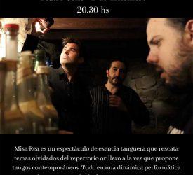 """""""Misa rea"""" - Hagopian - Irigoyen - Arenas en el Solís - 2 de Diciembre"""