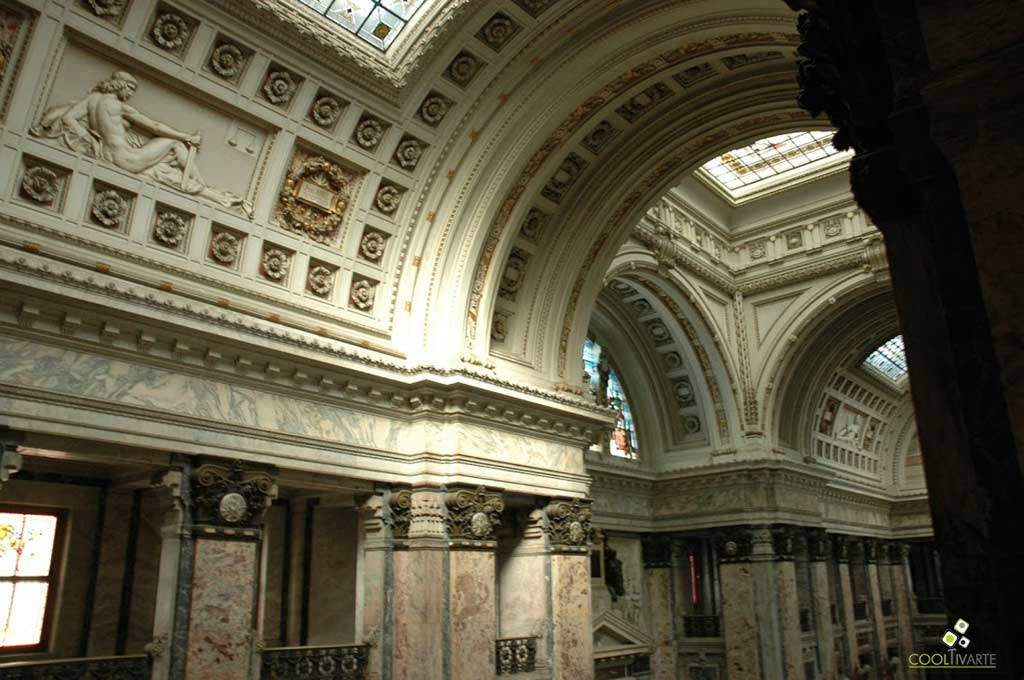 Vista superior interior, Palacio Legislativo. MHN. Montevideo - Uruguay. Foto © Federico Meneses
