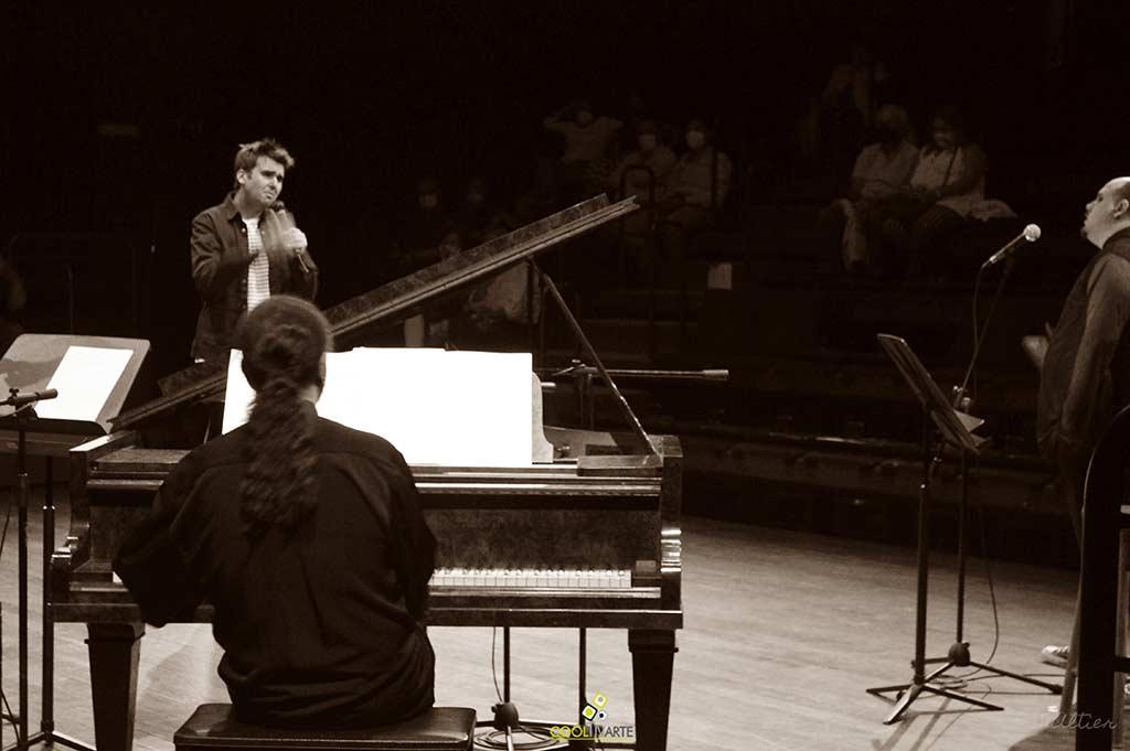 MISA REA – Álvaro Hagopian – Gonzalo Irigoyen – José Arenas en Teatro Solís - Diciembre 2020 - Foto © Michelle Altier www.cooltivarte.com