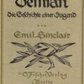 Imagen portada:First edition cover of Demian, 1919wikipedia.org