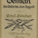 Imagen portada: First edition cover of Demian, 1919 wikipedia.org